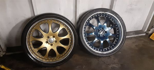 2pc 23 inch rims have all 4