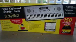 eMedia Piano for Dummies 61-Key Keyboard Starter Pack for Sale in Glendale, AZ