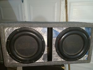 12 inch earthquake subwoofers old school for Sale in Springfield, MA