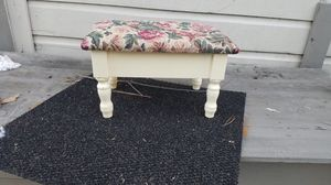 Small stool chair with storage for Sale in Houston, TX
