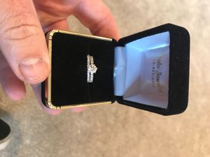 Engagement ring and wedding band for Sale in Highland, CA