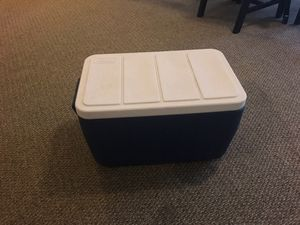 Blue Coleman Cooler for Sale in San Angelo, TX