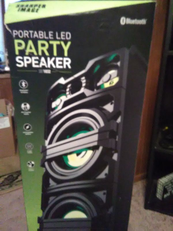 Sharper Image Portable Led Party Speaker For Sale In Manheim Pa