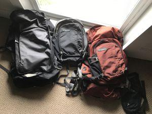 2 REI travel backpacks. for Sale in Kirkland, WA