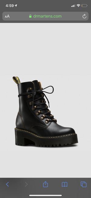 Dr. Martens Leona Women's Boots - Black for Sale in San Francisco, CA