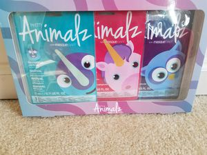 Animalz face mask 3 piece set - $5 for Sale in Rockville, MD