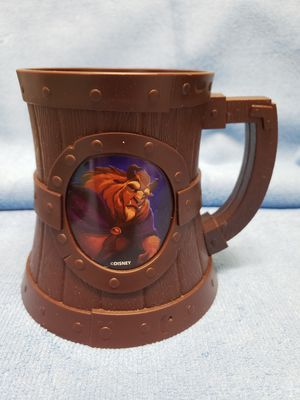 Disney Beast & Gaston Plastic Mug for Sale in Peoria, AZ