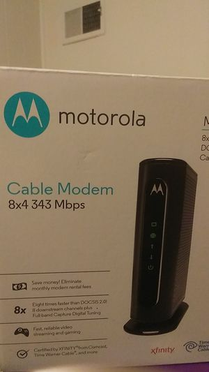 Motorola modem for Sale in Norcross, GA