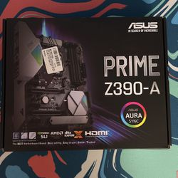Brand New Never Used Asus Prime Z390-A for Sale in Beaverton, OR