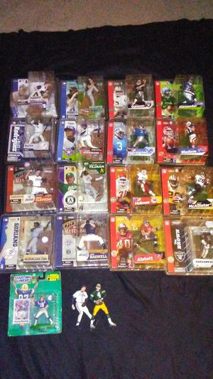 NFL and MLB McFarlane Sports Action Figure bundle for Sale in Cleveland, OH