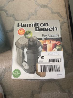 Hamilton Beach Big Mouth Juicer Brand New for Sale in Clermont, FL