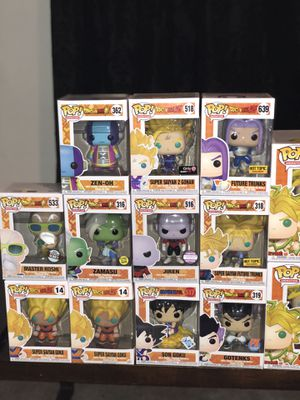 DBZ, Dragon Ball Z Funko Pops for Sale in Surprise, AZ