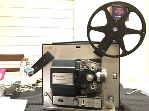 8 mm projector and video camera for Sale in San Antonio, TX