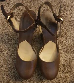 Leather Michael Kors Wedges for Sale in Raleigh, NC