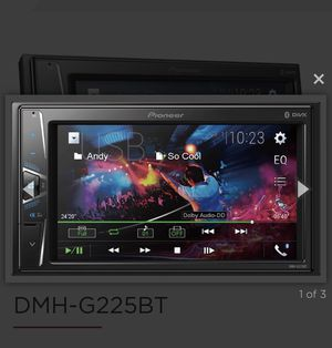 PIONEER DMHG225BT DOUBLE DIN STEREO for Sale in Los Angeles, CA