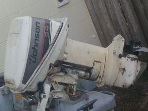 Johnson 9.9 hp w/12 foot jon boat and trailer for Sale in Longwood, FL