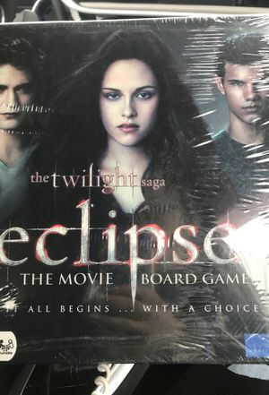 Twilight Eclipse board game for Sale in Woonsocket, RI