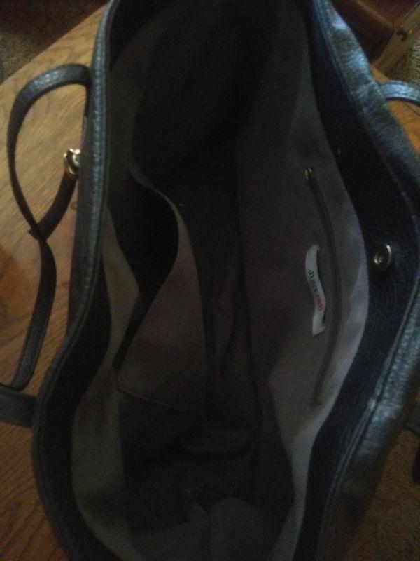 JustFab Large Women's Handbag/Purse (Black)