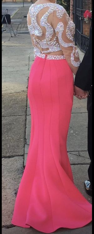 Hot Pink Cassandra Stone Prom Dress for Sale in Ashville, AL