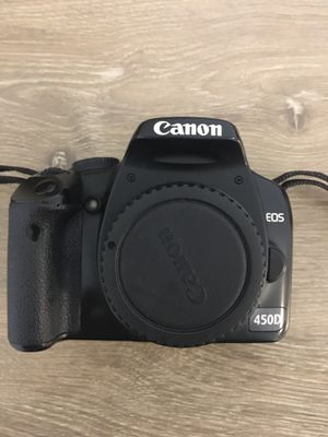 Canon 450D Body Only for Sale in Schaumburg, IL