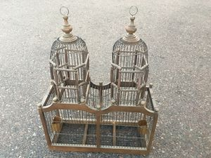 VINTAGE DOUBLE DOME BIRD CAGE for Sale in Tempe, AZ
