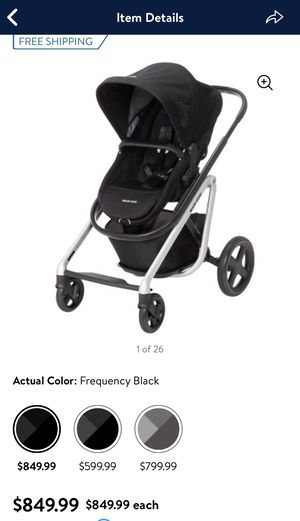 Maxi-Cosi Lila Modular All-in-One Stroller, Frequency Black for Sale in Phoenix, AZ