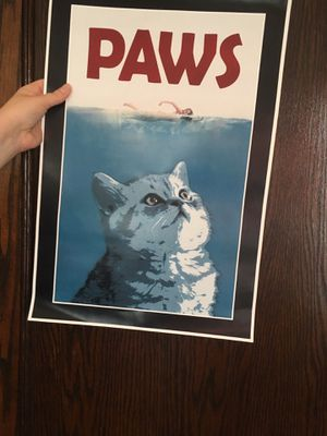 Paws Poster for Sale in Chicago, IL