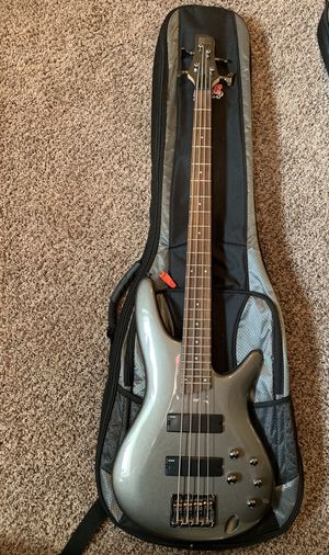 SDGR IBANEZ ELECTRIC BASS -Steel Gray with GIG BAG for Sale in Bloomington, IL