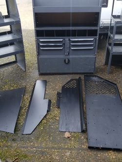 Van Storage Metal Shelves for Sale in Beaverton,  OR