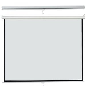 119 Manual Pull Down Projector Screen 84 X 84 1:1 Format HD Home Theater for Sale in Wildomar, CA