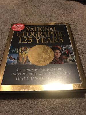 National Geographic 125 years book for Sale in Las Vegas, NV
