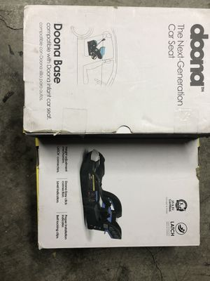 Doona car seat latch base. for Sale in Los Angeles, CA