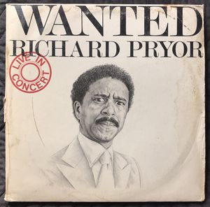 Richard Pryor - Wanted Live in concert (Vinyl ) Record Album for Sale in Corona, CA