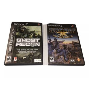 Lot Of 2 Ghost Recon SOCOM U.S. Navy Seals Sony PlayStation 2 PS2 Bundle. for Sale in Addison, TX