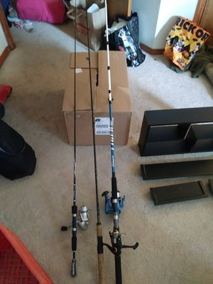 Fishing poles for Sale in Gresham, OR