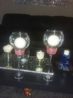 Candle holders 2pc set for Sale in Peoria,  IL