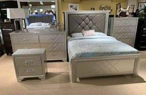 👉 $39 down payment 🥎 - ⚘🎲⚘ Phobe Panel Bedroom Set | B6970 ⚘🎲⚘ for Sale in Laurel, MD