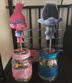 Trolls center pieces for Sale in Los Angeles, CA