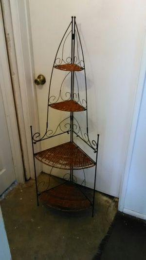 Wicker Corner Shelf for Sale in Henderson, NV