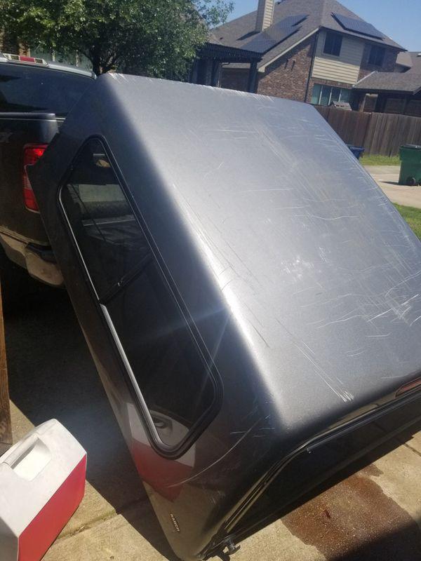 Truck cap camper shell