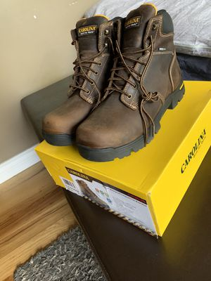 SIZE 11 BRAND NEW Never Worn Waterproof Carolina Composite Toe Work Boot for Sale in Mesa, AZ