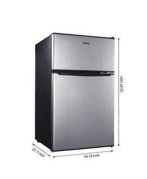 *NEW* GALANZ 3.1 CU.FT. TWO DOOR COMPACT REFRIGERATOR for Sale in New York, NY
