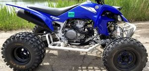 The 2005 Yamaha YFZ450 450cc Atv Race Quad features a 4 stroke single cylinder engine with a 5 speed manual transmission, for Sale in Washington, DC