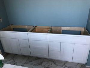 "Bathroom vanity cabinet 93"" All Wood for Sale in Houston, TX"