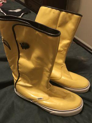 Vans rain boots for Sale in Houston, TX