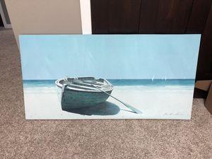 Boat canvas wall art for Sale in Henderson, MN