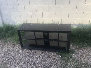 Glass tv stand for Sale in Payson, AZ
