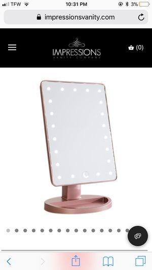 Makeup mirror / impressions vanity mirror for Sale in Warwick, RI