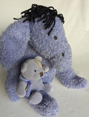 "Walt Disney Eeyore Donkey 12"" Plush Stuffed Animal Winnie the Pooh Terry Cloth Vintage for Sale in Lewisville, TX"