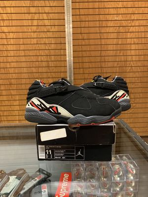 JORDAN 8 LOW RETRO PLAYOFFS DEL SOL SIZE 11 for Sale in Seattle, WA